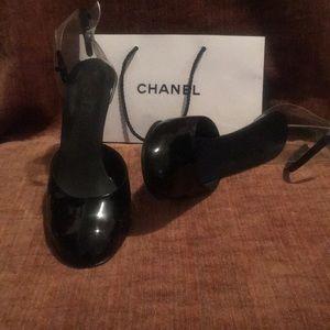 Chanel cinderella heelsl